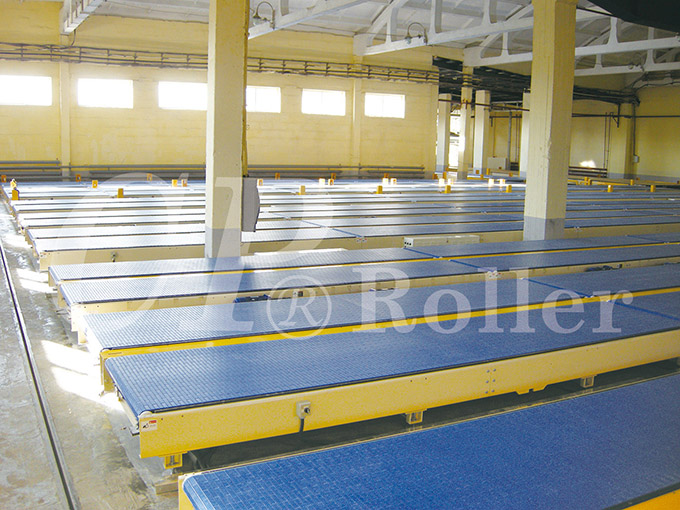 Driven Net Belt Conveyor